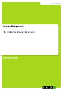 Title: EU-Chinese Trade Relations