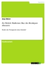 Title: Zu: Patrick Madionao: Rue des Boutiques obscures