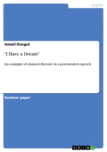 i have a dream - I Have A Dream Essay Examples