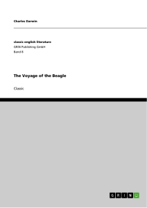 Titel: The Voyage of the Beagle
