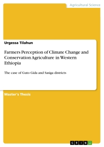 Titel: Farmers Perception of Climate Change and Conservation Agriculture in Western  Ethiopia