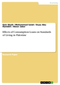 Titel: Effects of Consumption Loans on Standards of Living in Palestine