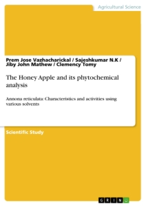Titel: The Honey Apple and its phytochemical analysis