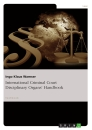 Titel: International Criminal Court Disciplinary Organs' Handbook