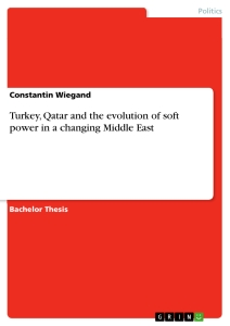 Titel: Turkey, Qatar and the evolution of soft power in a changing Middle East