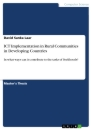 Titel: ICT Implementation in Rural Communities in Developing Countries