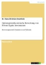 Titel: Optionspreistheoretische Bewertung von Private Equity Investments