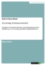 Titel: E-Learning Evaluationsmodell