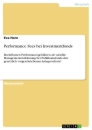 Titel: Performance Fees bei Investmentfonds