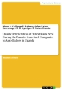 Titel: Quality Deterioration of Hybrid Maize Seed During the Transfer from Seed Companies to Agro-Dealers in Uganda