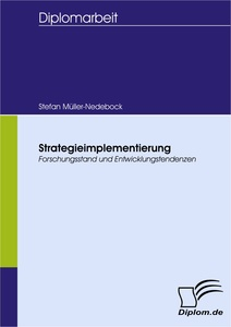 Titel: Strategieimplementierung