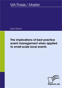 The implications of best practice event management when applied to titel the implications of best practice event management when applied to small scale local fandeluxe Images