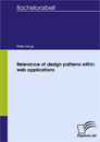 Titel: Relevance of design patterns within web applications