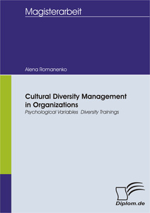 Titel: Cultural Diversity Management in Organizations